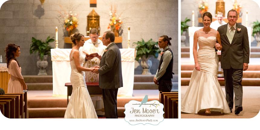 Jen Moser Photography Indiana Photographer Fort Wayne Wedding
